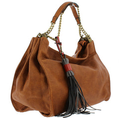 CRIMSON BROWN WOMEN'S HANDBAG - Wholesale Fashion Shoes