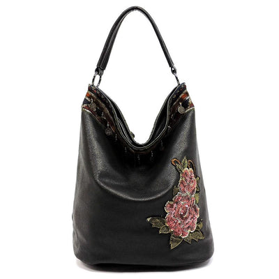 Harper090 Black Women's Handbag - Wholesale Fashion Shoes