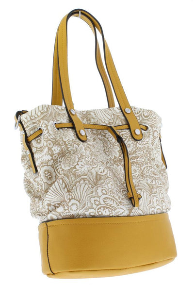 Abigail036 Yellow Women's Handbag - Wholesale Fashion Shoes