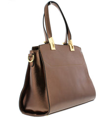 LYSANDER BRONZE WOMEN'S HANDBAG - Wholesale Fashion Shoes