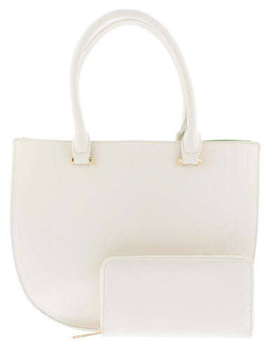 Luna069 Off White Women's Handbag And Wallet - Wholesale Fashion Shoes