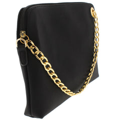 LUIZA BLACK WOMEN'S HANDBAG CLUTCH - Wholesale Fashion Shoes