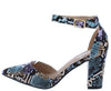 Hazel02 Multi Snake Women's Heel - Wholesale Fashion Shoes