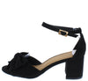 Headline09 Black Women's Heel - Wholesale Fashion Shoes