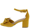 Headline09 Mustard Women's Heel - Wholesale Fashion Shoes