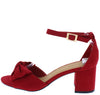 Headline09 Red Women's Heel - Wholesale Fashion Shoes