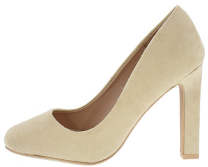 193021016a67 Helina1 Nude Almond Toe Pump Heel - Wholesale Fashion Shoes