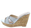 Heron Silver Women's Wedge - Wholesale Fashion Shoes