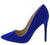 Hibiscus01s Electric Blue Women's Heel