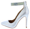 Hibiscus16s Silver Women's Heel - Wholesale Fashion Shoes