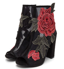 ANNA105 BLACK WOMEN'S BOOT - Wholesale Fashion Shoes