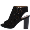 Hush03 Black Women's Heel