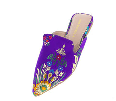 ICING PURPLE WOMAN'S FLAT - Wholesale Fashion Shoes