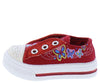 Icon Red Sparkle Toe Grommet Butterfly Infant Kids Sandal - Wholesale Fashion Shoes