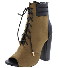 ALANA260 OLIVE WOMEN'S BOOT - Wholesale Fashion Shoes