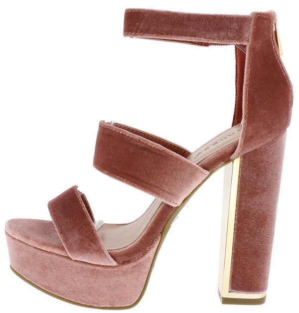 1897d5fa509 Inclined04m Mauve Open Toe Three Strap Block Platform Heel