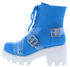 Influencer Blue Women's Boot - Wholesale Fashion Shoes