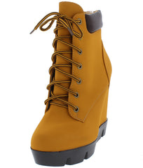 INVENT08 HONEY WHEAT WOMEN'S BOOT - Wholesale Fashion Shoes - 2