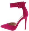 Iola1 Fuchsia Women's Heel - Wholesale Fashion Shoes