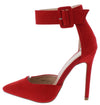 Iola1 Red Women's Heel - Wholesale Fashion Shoes