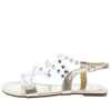 Maria204 Gold Open Toe Lucite Rhinestone Strap Sandal - Wholesale Fashion Shoes