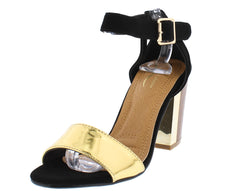 ITALY12L GOLD WOMEN'S HEEL - Wholesale Fashion Shoes