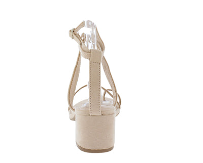 Jaden99 Nude Women's Heel - Wholesale Fashion Shoes