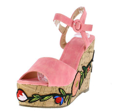 LALA139 CORAL WOMEN'S WEDGE - Wholesale Fashion Shoes