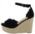 Jannas Black Women's Wedge