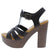Juliana25 Black Women's Heel