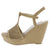Jacoby Natural Nubuck Pu Women's Wedge