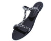 Joanie141 Black Women's Sandal - Wholesale Fashion Shoes