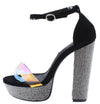 Joe12 Black Women's Heel - Wholesale Fashion Shoes