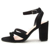 Karden14 Black Women's Heel - Wholesale Fashion Shoes