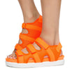 Kiki26 Neon Orange Women's Sandal - Wholesale Fashion Shoes