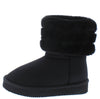Denise271 Black Kids Boot - Wholesale Fashion Shoes