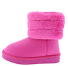 Denise271 Pink Kids Boot - Wholesale Fashion Shoes