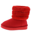 Denise271 Red Kids Boot - Wholesale Fashion Shoes