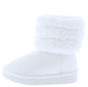 Denise271 White Kids Boot - Wholesale Fashion Shoes