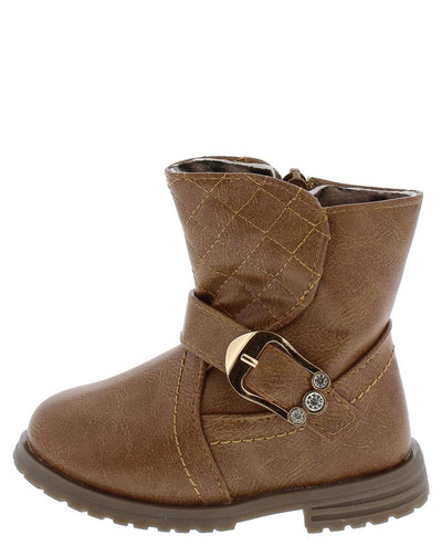 Bbt125ks Camel Infants Boot - Wholesale Fashion Shoes
