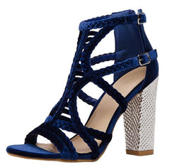 KURRY NAVY WOMEN'S HEEL - Wholesale Fashion Shoes