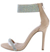 Kando Taupe Women's Heel - Wholesale Fashion Shoes