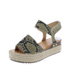 Karl03 Snake Pu Women's Sandal - Wholesale Fashion Shoes