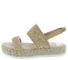 Karli35 Beige Women's Sandal - Wholesale Fashion Shoes
