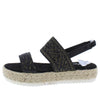 Karli35 Black Women's Sandal - Wholesale Fashion Shoes