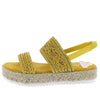 Karli35 Mustard Women's Sandal - Wholesale Fashion Shoes