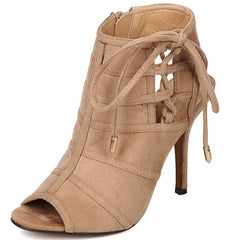 KENT02 BEIGE WOMEN'S HEEL - Wholesale Fashion Shoes