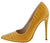 Yvette156 Yellow Women's Heel