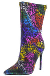 Kind6 Fuchsia Multi Women's Boot - Wholesale Fashion Shoes