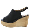 Kite03 Black Women's Wedge - Wholesale Fashion Shoes